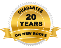 20 years guarantee on new roofs