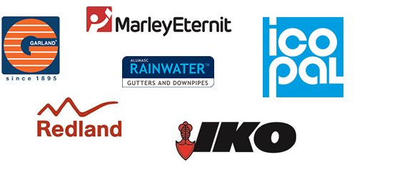 Roofing supplier logos