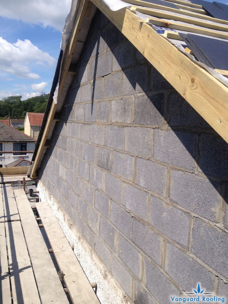 Hipped Roof To A Gable Construction Vanguard Roofing