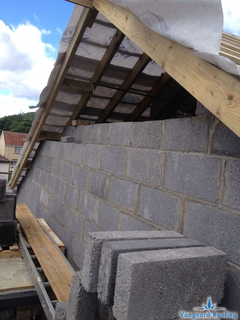 Hipped Roof to a Gable construction - Vanguard Roofing