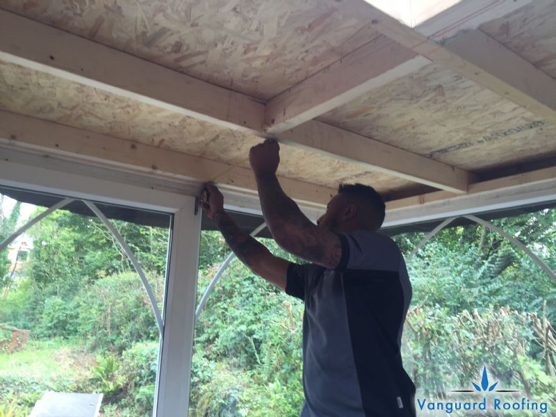 Conservatory Roof Conversion Vanguard Roofing