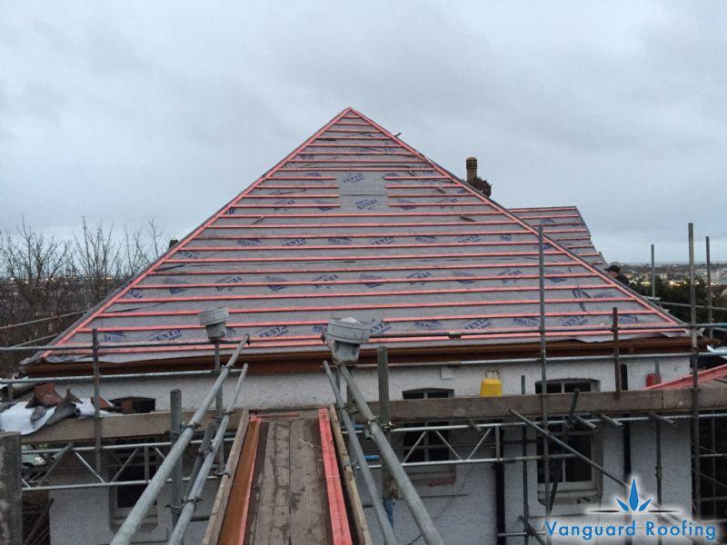Slate Roof Refurbishment - Vanguard Roofing