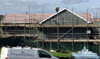 Roof refurbishment for Swansea council