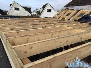 Flat Roof construction